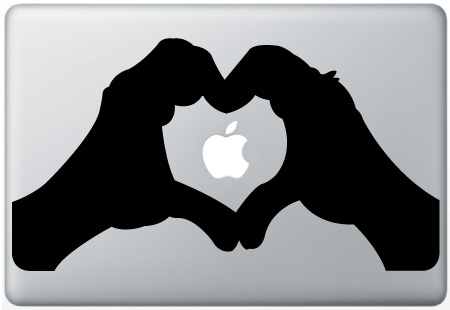 MacBook Hand Of Love