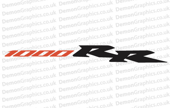 Bike Decal (Pair of) Honda 16