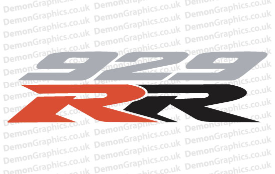 Bike Decal (Pair of) Honda 18