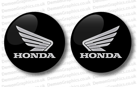 Honda Domed Tank decal 2""