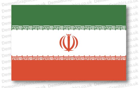 Iran Flag (Pair)