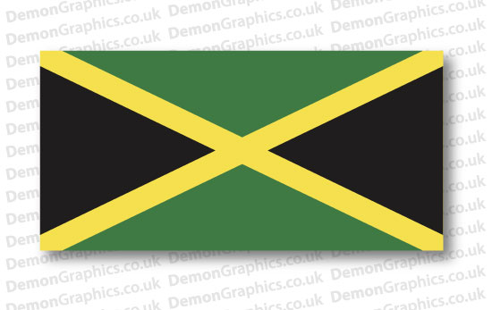 Jamaica Flag (Pair)