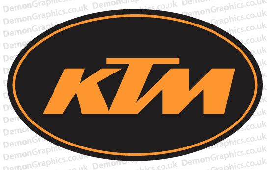 Bike Decal (Pair of) KTM 3