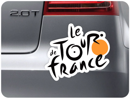 Le Tour De France Sticker