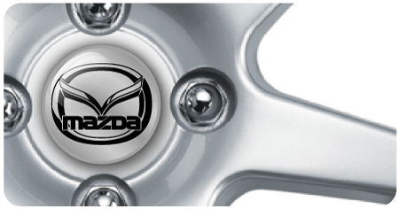 Wheel Centre Badges - Mazda (set of 4)