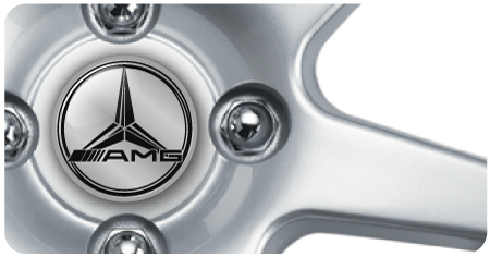 Wheel Centre Badges - Merc AMG (set of 4)