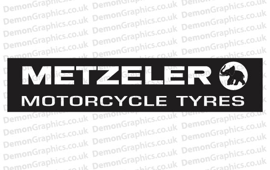 Bike Decal (Pair of) Metzeler