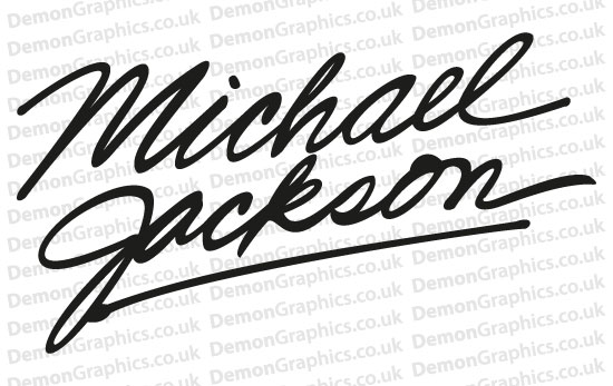 Michael Jackson 1 Sticker
