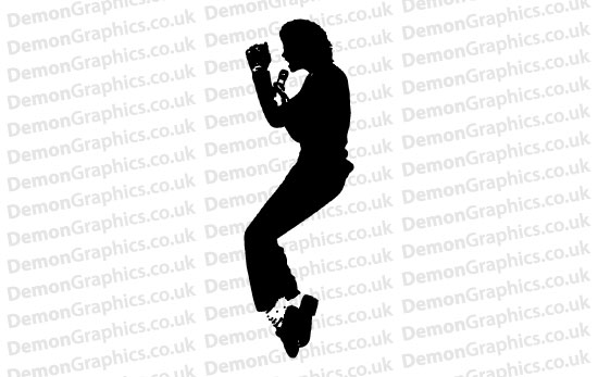 Michael Jackson 4 Sticker