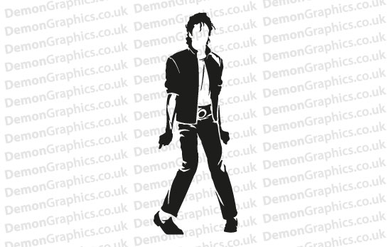 Michael Jackson 8 Sticker