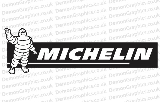 Bike Decal (Pair of) Michelin 2