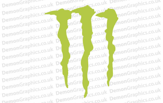 Bike Decal (Pair of) Monster 2