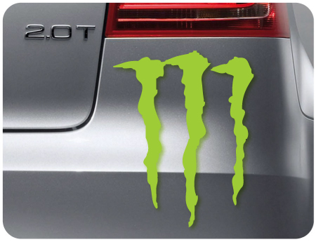 Monster Sticker 2 (pair of)