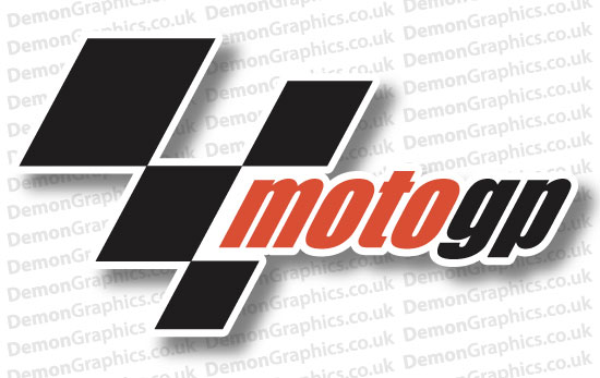 Bike Decal (Pair of) Moto GP