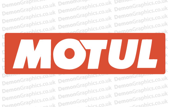 Bike Decal (Pair of) Motul 1