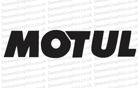 Bike Decal (Pair of) Motul 2