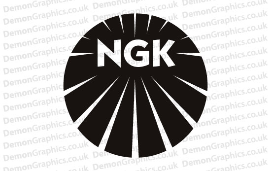 NGK Sticker # 1 (Pair of)