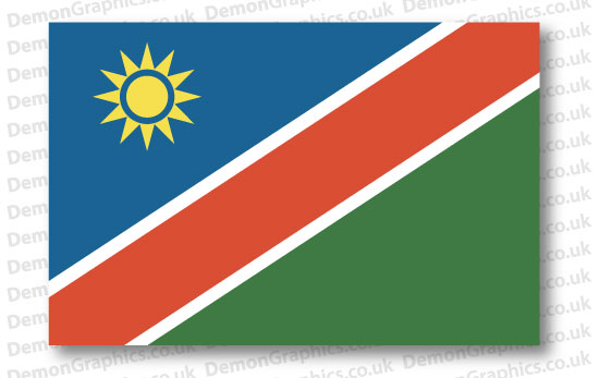 Namibia Flag (Pair)