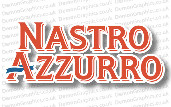 Bike Decal (Pair of) Nastro Azzuro