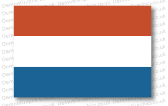 Netherlands Flag (Pair)