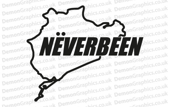 Bike Decal (Pair of) Neverbeen