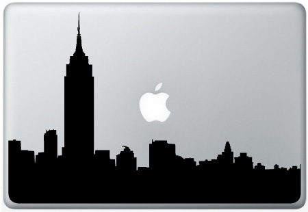 MacBook New York Skyline