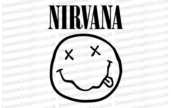 Nirvana 2 Sticker