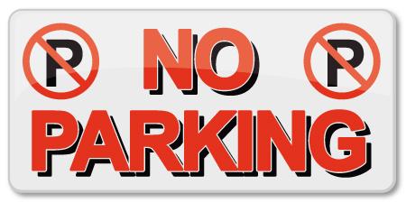 No Parking Sign No Parking Sign 163 9 99 Car Graphics