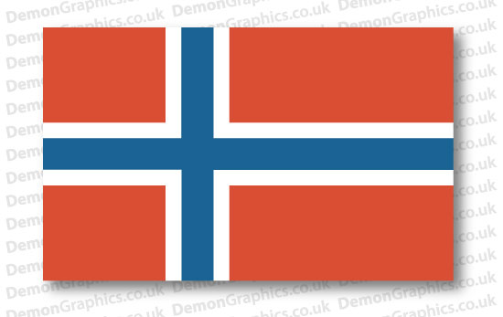 Norway Flag (Pair)