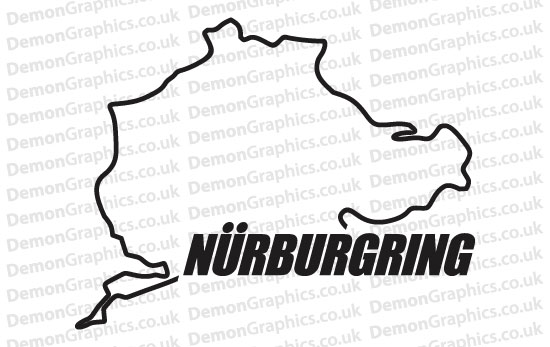 Bike Decal (Pair of) Nurburgring