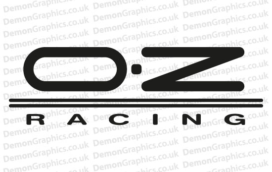 Bike Decal (Pair of) OZ Racing