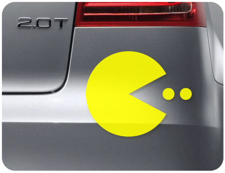 Pac Man Retro 1 Sticker