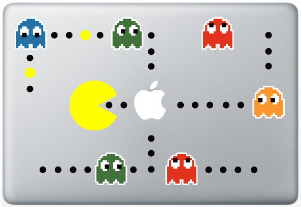 MacBook Pac-Man