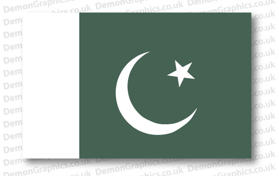 Pakistan Flag (Pair)
