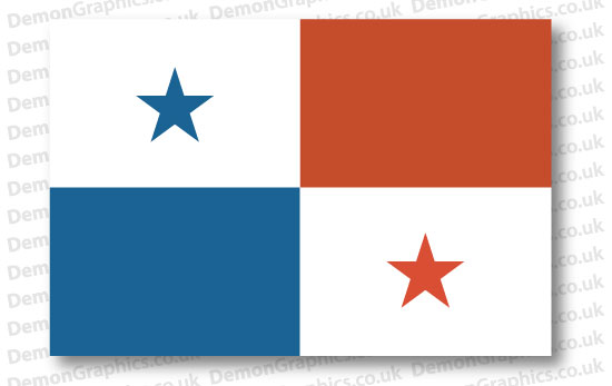 Panama Flag (Pair)
