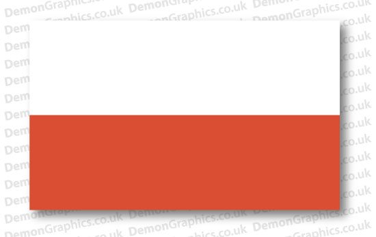 Poland Flag (Pair)