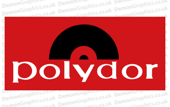 Polydor Records Sticker