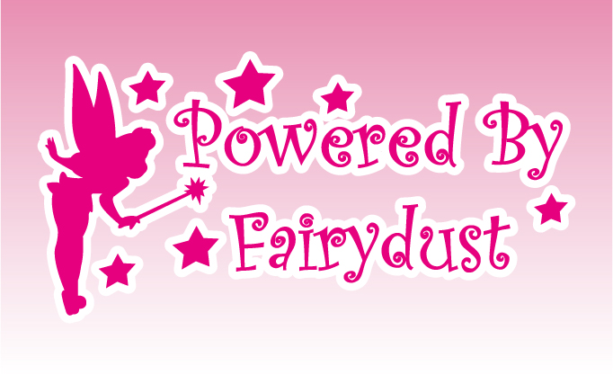 Powered By Fairydust Decal