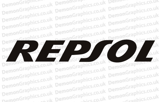 Repsol Sticker # 2 (Pair of)