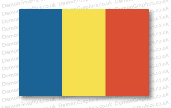 Romania Flag (Pair)