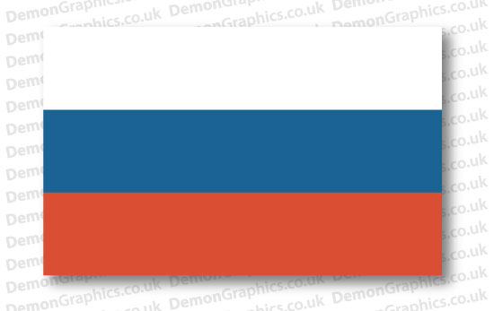 Russia Flag (Pair)