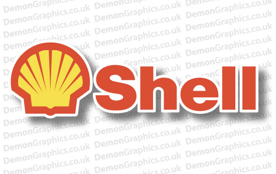 Shell Sticker # 1 (Pair of)