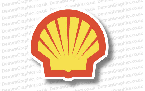 Shell Sticker # 2 (Pair of)