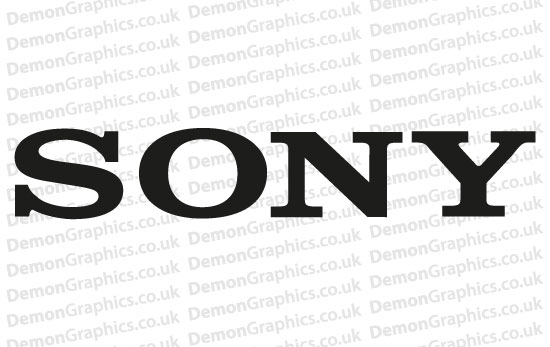 Sony Sticker (Pair of)