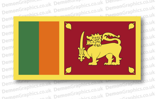 Sri Lanka Flag (Pair)
