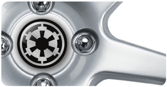Wheel Centre Badges - Star Wars 2 (set of 4)