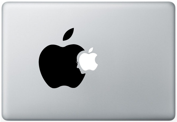 MacBook Steve Jobs