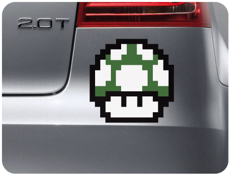 Nintendo 1 Up Graphic