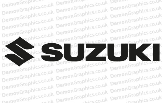 Bike Decal (Pair of) Suzuki 1