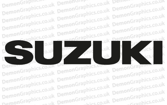 Bike Decal (Pair of) Suzuki 2